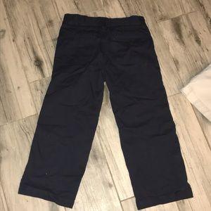 Gymboree Bottoms - Boys uniform pants & shorts size 4t lot of 2